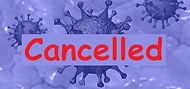 Cancelled Covid-19 Coronavirus Blue #2 (