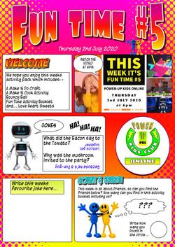 Fun Time #5 Magazine