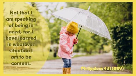 Philippians 4:11 (ESV)