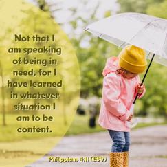 Philippians 4v11 (ESV)