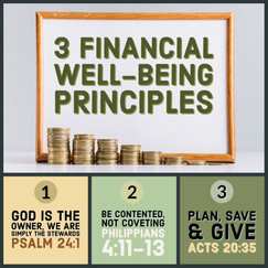 Financial Well-being Principles