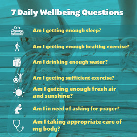 7 Daily Wellbeing Questions