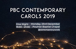 Contemporary Carol Service
