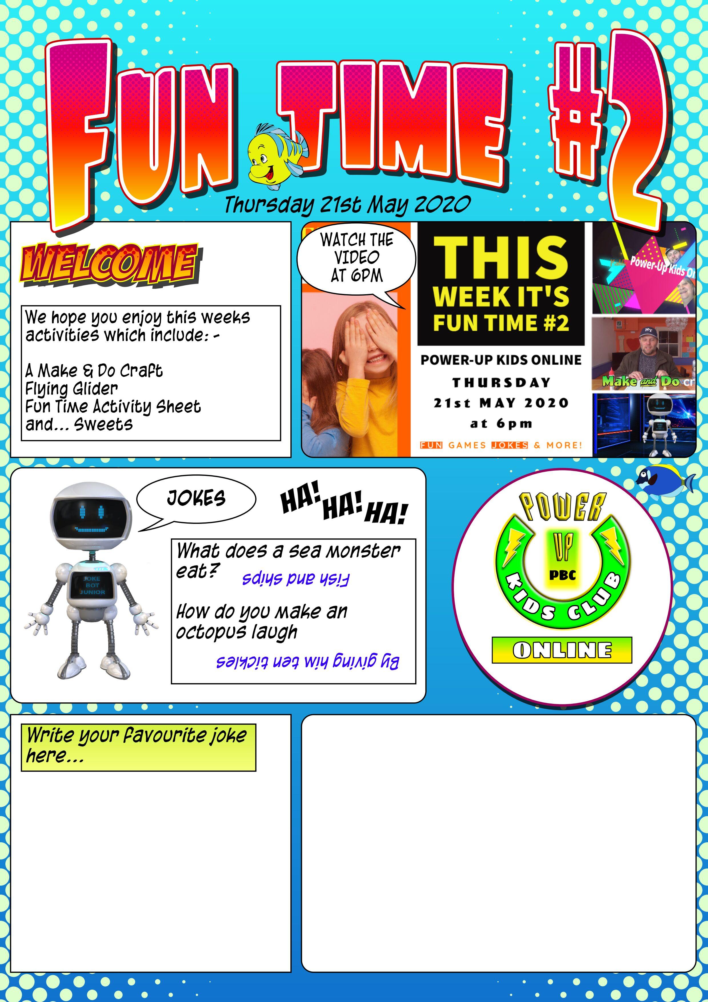 Fun Time #2 Magazine