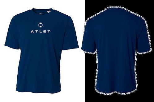 Atlet Performance Tech T-Shirt - Blue