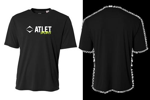 Atlet Sports Performance T-Shirt - Black