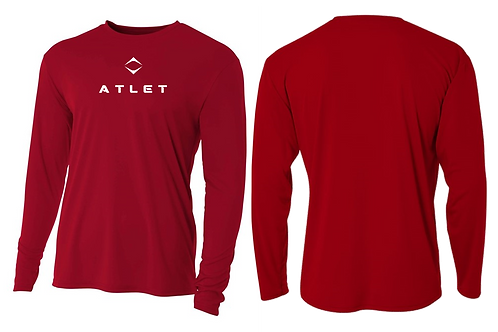 Atlet Performance Tech Long Sleeve  - Red