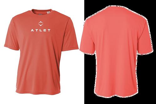 Atlet Performance Tech T-Shirt - Summer Red