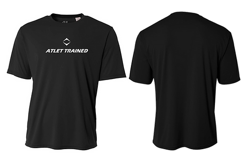 Atlet Trained Performance T-Shirt - Black