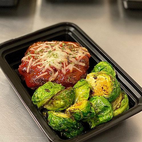 #51 - 100% Grassfed Beef Meatloaf Stuffed Portobello