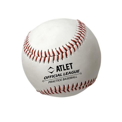 Atlet Cowhide Leather Practice Baseballs
