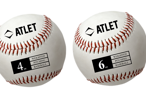 Atlet Leather Weighted Baseball