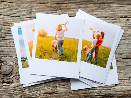 Фотографии в стиле Polaroid. Промокод!