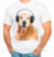 печать фото на мужской футболке, двунитка