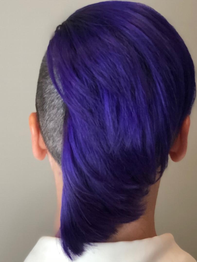 Purple Wave By Krista