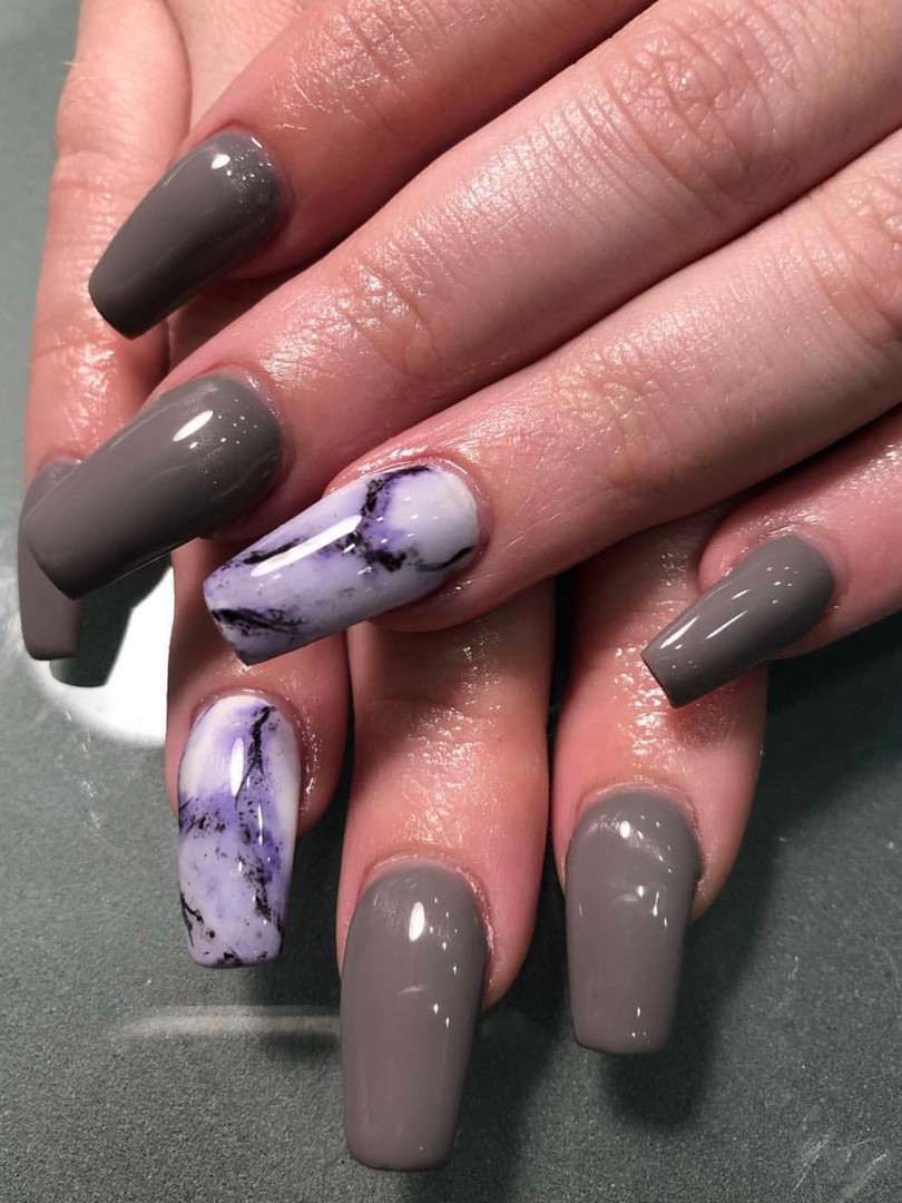 Marble nails BY JEN H