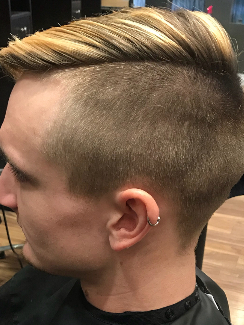 Sharp Fade by Andrew