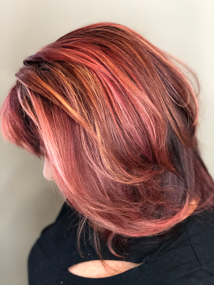 Red Highlight By Cassi