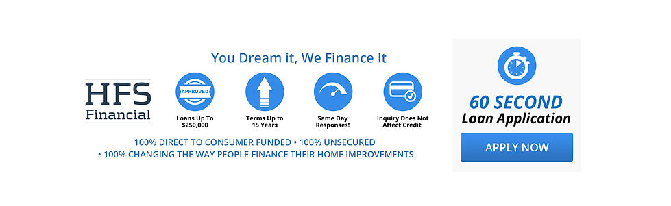HFS Financial, Pool Funding, Funding for Home Improvements