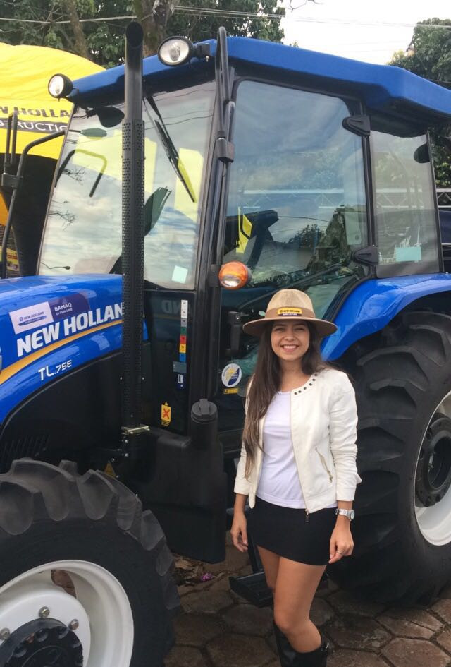 Ação promocional New Holland