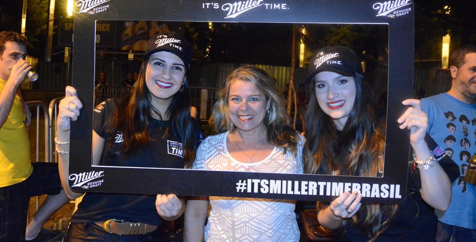 Ação promocional Miller