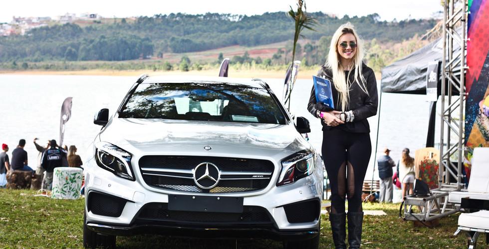 Ação promocional Mercedes Campeonato Wake