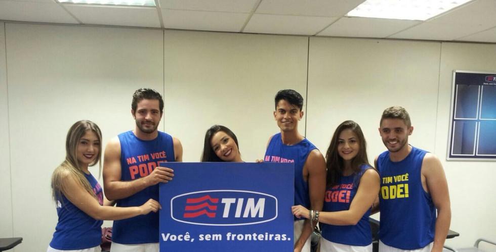 Ação promocional Tim