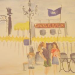 Creole Queen watercolor