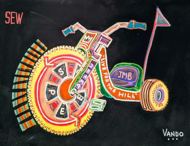 Basquiat's Big Wheel