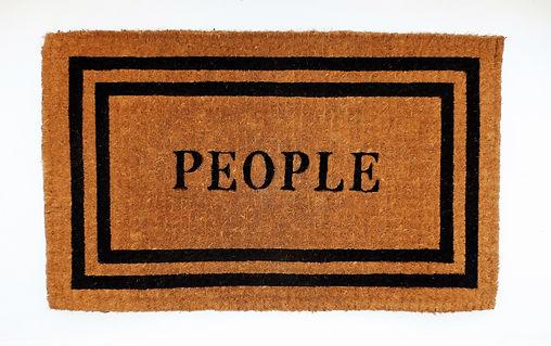 People - artwork by Klaus Guingand