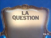 La question (TV) - klaus Guingand artwork
