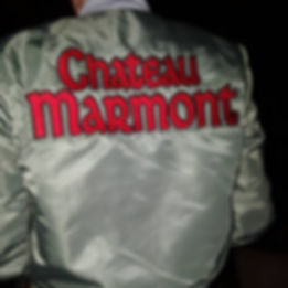 At Chateau Marmont Bomber Jacket artwork