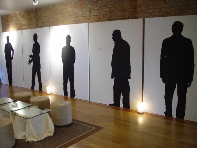 Klaus Guingand art studio