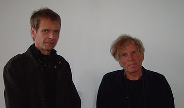 Klaus Guingand and  Dennis Oppenheim - 2007 - New York - USA