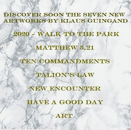 Discover soon Klaus Guingand artworks