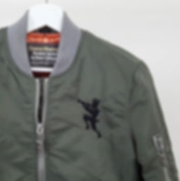 """Chateau Marmont Bomber Jacket"" shoulder (The fauns)"