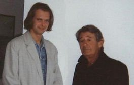 Helmut Newton and Klaus Guingand - 1995