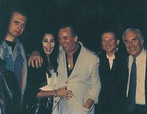 Klaus Guingand, Cher, Danny.Aiello, Mick Hucknall and Martin Landau - 1993