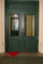 "Klaus Guingand artwork : "" Behind the door "" : picture : 1996"