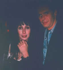 Klaus Guingand and Cher- 1994