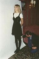 Claudia Schiffer pose for Klaus Guingand in 1993