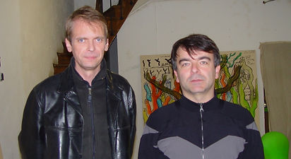 Klaus Guingand and Fabrice Hyber - 2004 - Paris - France