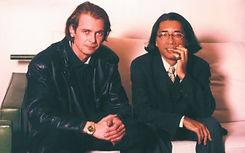 Klaus Guingand and Kenzo - Paris 1994