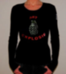 "Klaus Guingand T-shirt (woman) - ""Art Explosif"""