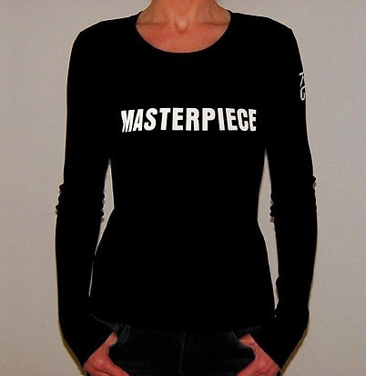 "Klaus Guingand T-shirt (woman) - ""Masterpiece"""