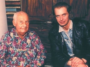 Stéphane Grappelli & Klaus Guingand At Stéphane Grappeli - 1994