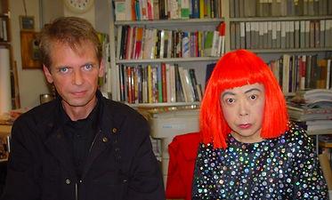 Klaus Guingand and Yayoi Kusama - 2005 - Tokyo - Japon