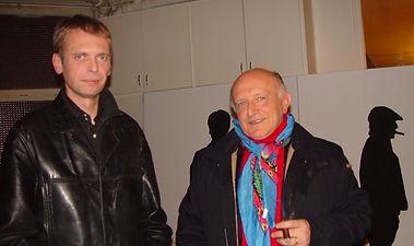 Klaus Guingand and Bertrand Lavier - 2005 - Paris - France