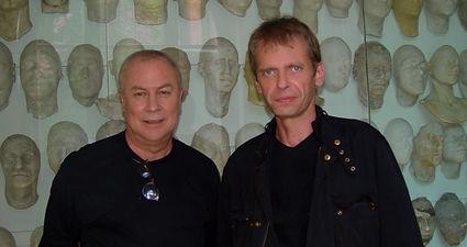 Klaus Guingand and Robert Wilson - 2007 - Berlin - Allemagne.