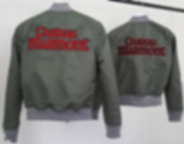 Chateau Marmont Bomber Jacket -verso